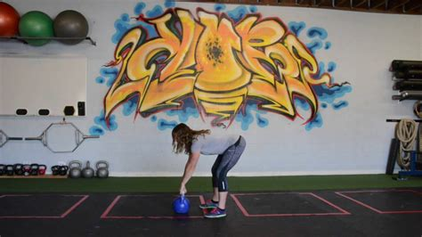 kettlebell swing movements beginner part