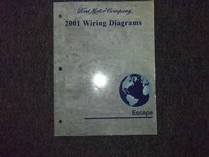 2001 Ford Escape Electrical Wiring Diagrams Ewd Service Repair Shop Manual