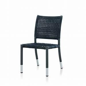 Chaise En Résine Tressée : chaise de jardin en r sine tress e brin d 39 ouest ~ Dallasstarsshop.com Idées de Décoration