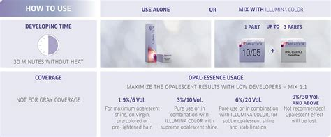 Wella Hair Color Mixing Instructions
