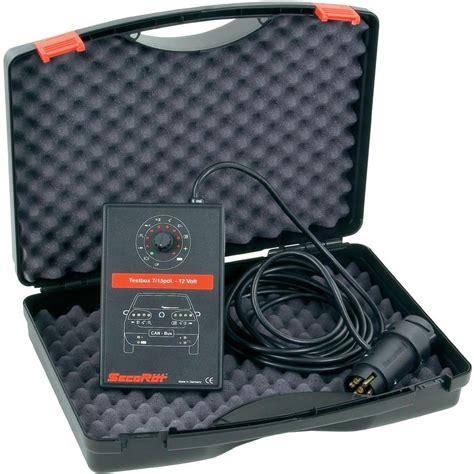 trailer light tester box secor 252 t trailer socket tester box from conrad