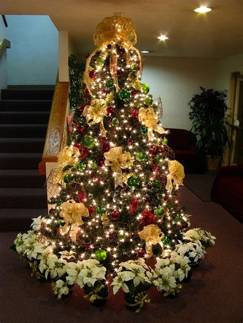white and gold christmas tree decorations designcorner