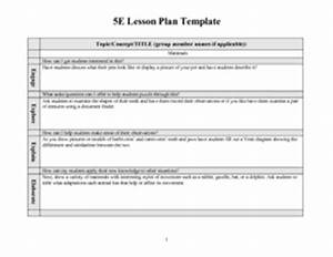 5e lesson plan template mammals 2nd 3rd grade lesson With five e lesson plan template