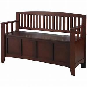 Linon Cynthia Storage Bench - 609776, Living Room at