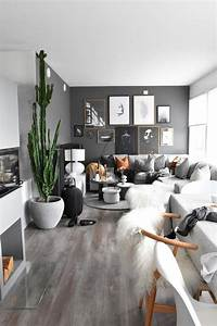 31, Gorgeous, Grey, Living, Rooms, Ideas, That, Help, Your, Lounge, Look, Stylish