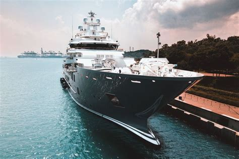 Yacht Andromeda by In Pictures The 107m Explorer Andromeda In Singapore