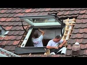 Velux Fenster Selber Einbauen : dachfenster einbau youtube ~ Watch28wear.com Haus und Dekorationen