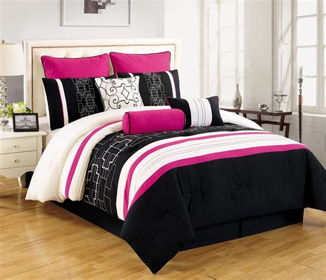 Black And White Bedding Sets by Pink Black And White Bedding Sets For Tweens And