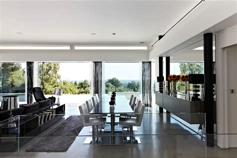 Contemporary Home Open To Panoramic Views by Contemporary Home Open To Panoramic Views