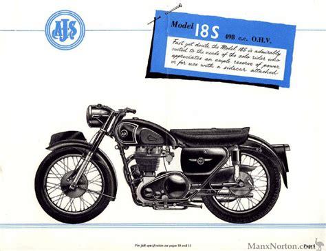 ajs 1956 catalogue 18s