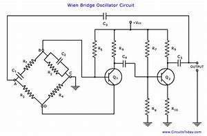 wien bridge oscillator circuit theory and working elprocus With wwwcircuitstodaycom