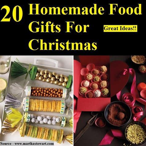 20 homemade food gifts for christmas home and life tips