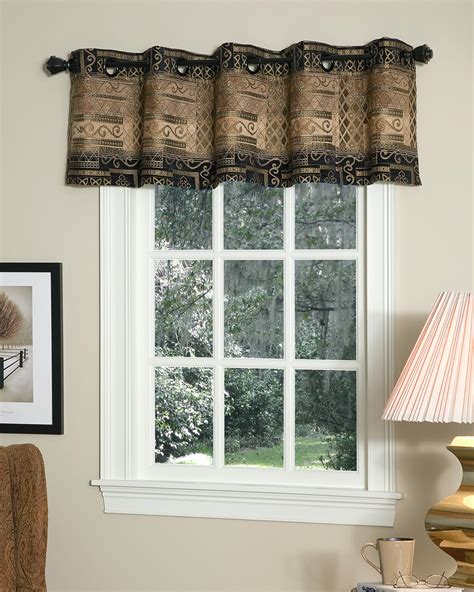Bellagio Lined Grommet Valance  Pretty Windows
