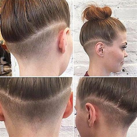 popular undercut long hairstyles  women