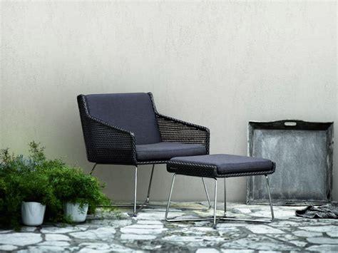 Poltrona Lounge, Intrecciata A Mano, Per Ambienti Esterni