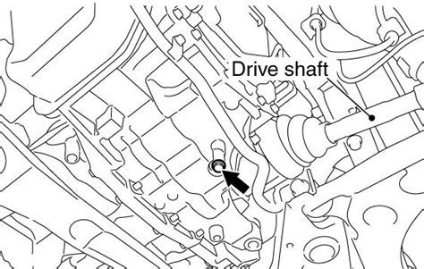 mitsubishi endeavor transmission fluid replacement service manual gear box