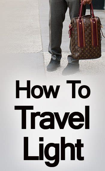how to pack light how to pack your travel bag light luggage packing tips