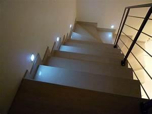 eclairage cage d escalier With eclairage marche escalier interieur