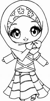 Muslim Coloring Pages Printable Anime Drawing Islamic Unique Sheets Getdrawings Getcolorings Chibi Sketch Kid Template Olphreunion sketch template