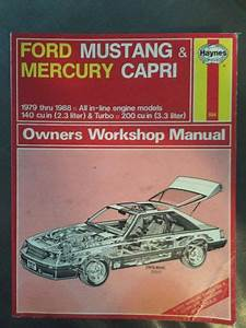 Sell Haynes Repair Manual Ford Mustang  U0026 Mercury Capri