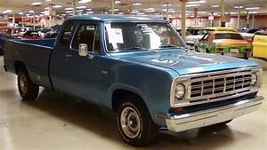 1974 Dodge D100 5 7 Hemi V8 Five Speed Auto Custom Pickup