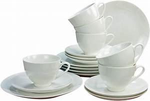 Geschirr Set Weiß : creatable kaffeeservice bone china porzellan 18 teile caprice online kaufen otto ~ Buech-reservation.com Haus und Dekorationen