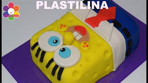 PLAY DOH Spongebob cake pastel de Bob esponja en