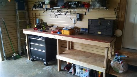 garage work bench workbench plans with designs meant to inspire