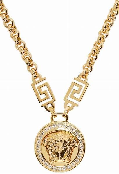 Versace Medusa Necklace Medallion Jewelry Ssense