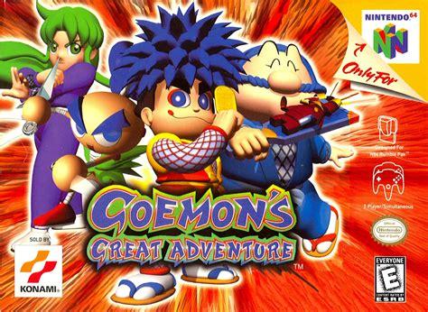 Goemon's Great Adventure Nintendo 64 Game