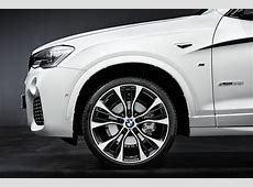World Debut for M Performance Parts for BMW's X3 and X4 at