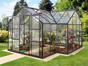Gewächshaus Aus Glas : pergart gew chshaus sirius 13qm in alu smaragd schwarz glas inkl fundament ebay ~ Whattoseeinmadrid.com Haus und Dekorationen