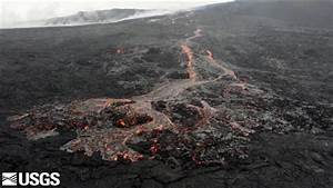 Watch Lava Flow From Hawaii U0026 39 S Most Active Volcano
