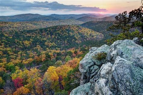 Talimena National Scenic Byway—ouachita National Forest
