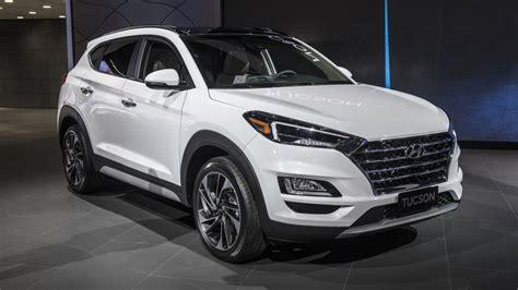 Hyundai Tucson 2019 by 2019 Hyundai Tucson Refresh Revealed At New York Auto Show