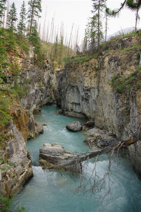 File:Marble Canyon - Kootenay National Park 1.JPG ...