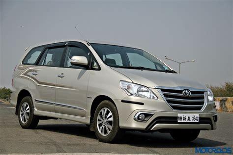 Toyota Innova Price by New Toyota Innova 2 5 Z Review Ageless Motoroids