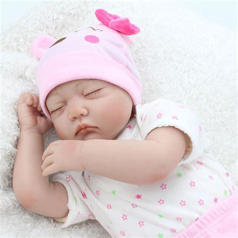 Lifelike Reborn Baby Dolls Girl Newborn Alive Realistic