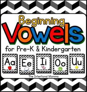 Printable Vowel Worksheets for Kindergarten