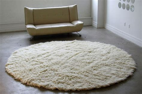white circle rug 2 materials should consider before buy kitchen rugs