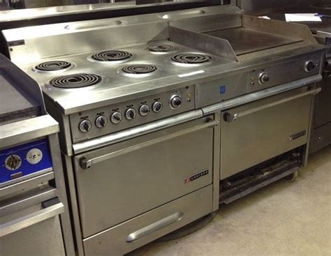 Garland 6 Burner Electric Range W/flat Top Grill And Double Ovens Stoves Sgb600ps Single Gas Oven Stainless Steel Ceramic Stove Top Cleaner Canadian Tire Samsung Slide In Induction Ge Double Drip Pans Flexible Flue Pipe Wood Burning Cook Steak On Cast Iron Does A Require Vent Hood Pacific Energy Inserts Reviews