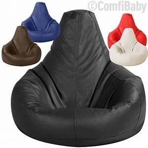 beanbag gamer chair adult gaming bean bag faux leather With big bean bag seat