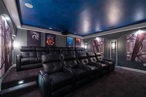 home theater  decorative acoustic panels