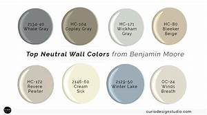 My top neutral wall colors curio design studio for Best neutral paint colors benjamin moore