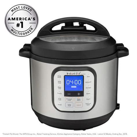 cooker pot pressure instant duo nova quart multi fryer air use slow touch programmable recipes combo cook lid qt steamer