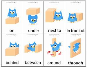 Motor Skills Preposition Game | learning | Pinterest ...