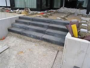 Blockstufen Beton Setzen : bilder der baustelle w hrend der becken gestaltung ~ Orissabook.com Haus und Dekorationen