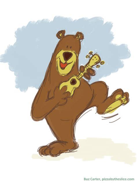 yosemite ukulele rangers dancing bear mascot ipad