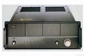 Sony Ta-n9 - Manual - Mono Power Amplifier