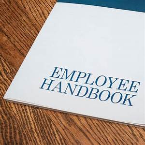 creating a restaurant employee handbook With employee handbook cover design template